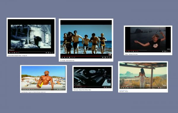 Musikvideos und Ibiza